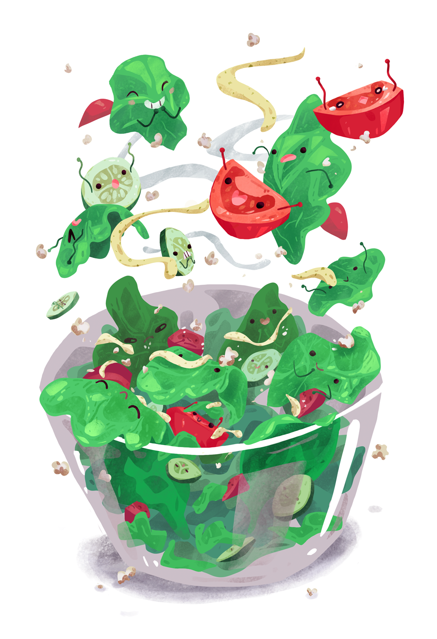 Food Cuties - Salad Toss