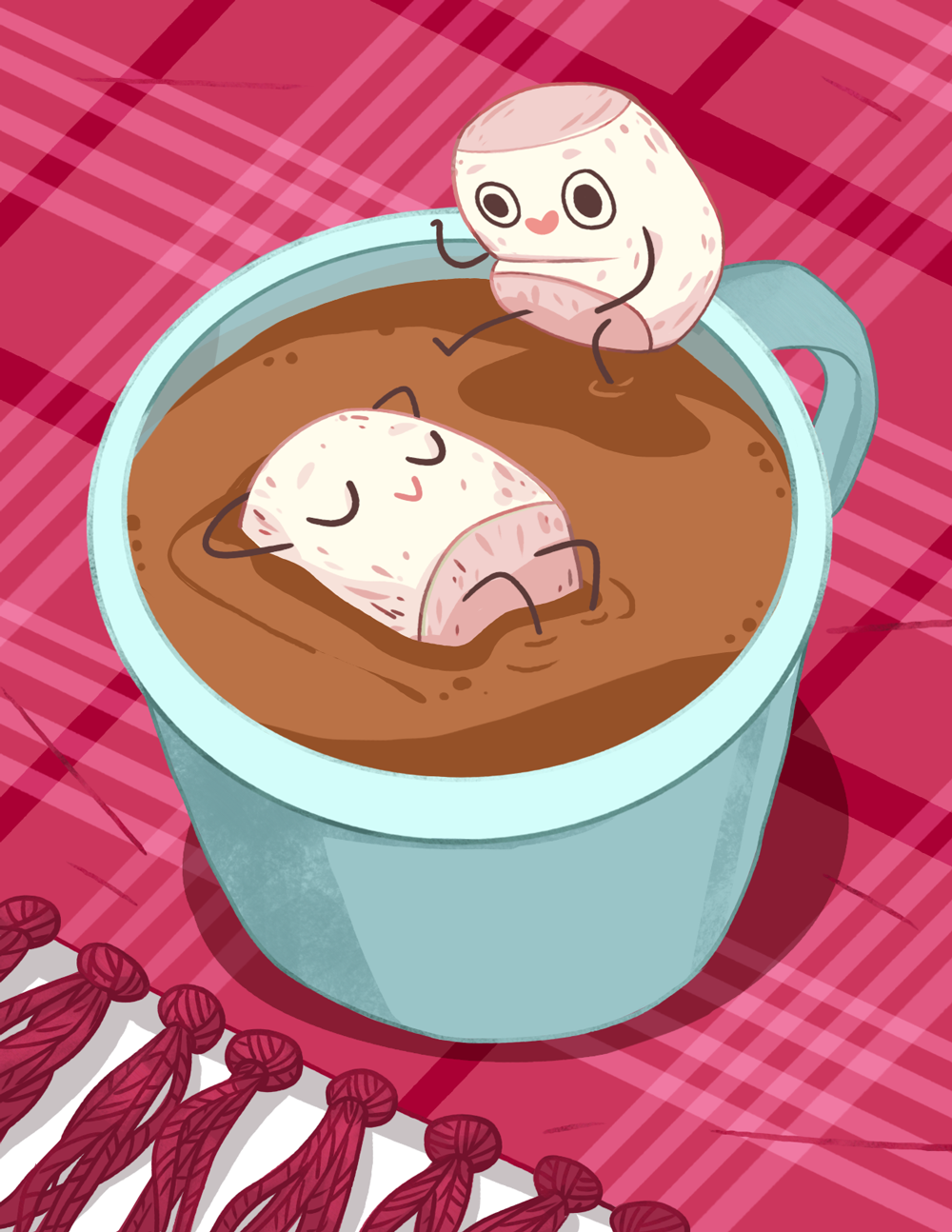 Food Cuties, Hot Cocoa Bath.